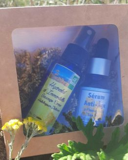 Coffret Bio Sérum et Hydrolat Immortelle